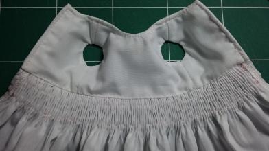 intérieur de la robe