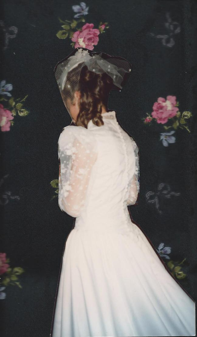 robe de mariée, 1991