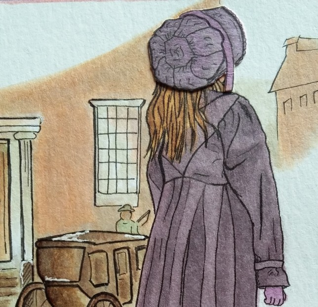 dessin de mon manteau Régence
