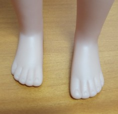 pieds d'Elisa