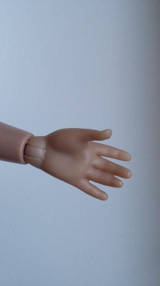main droite