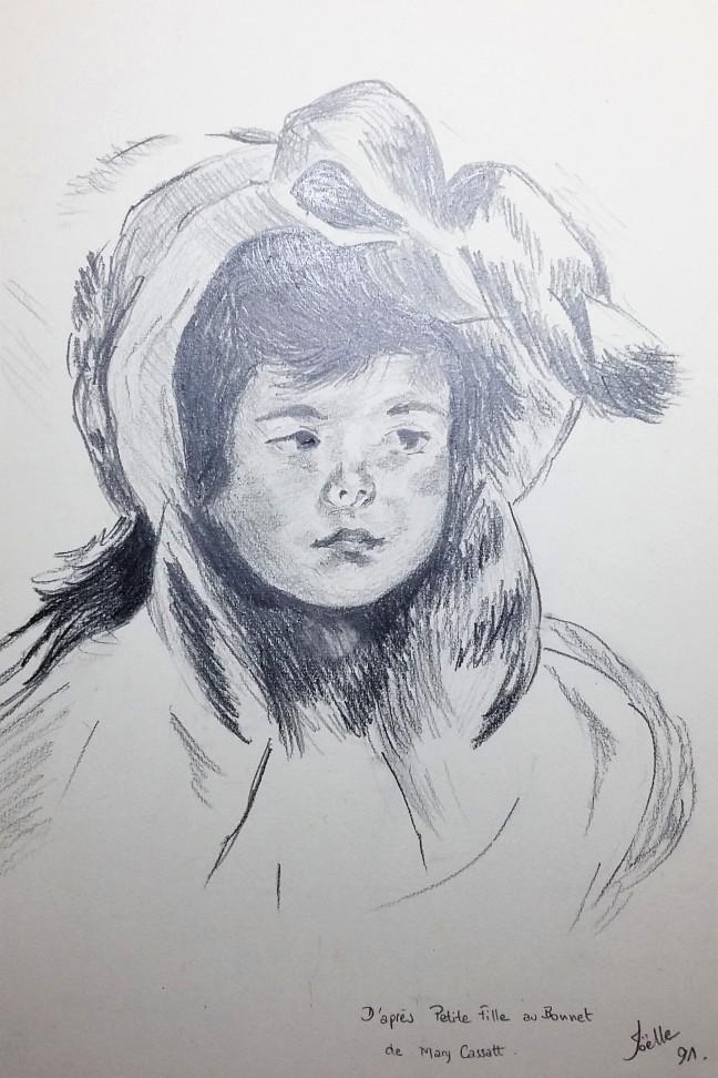 petite-fille-au-bonnet-dapres-mary-cassatt-1991