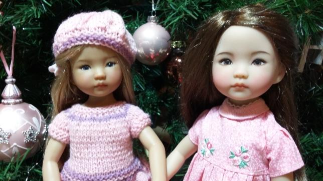 Summer & Sayuri with Dorothy's presents